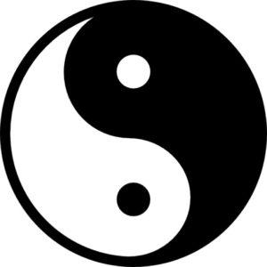 de yin en yang van acupunctuur